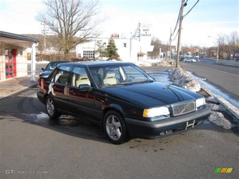 1995 volvo 850 sedan 1995 blue green metallic volvo 850 turbo sedan 26258953