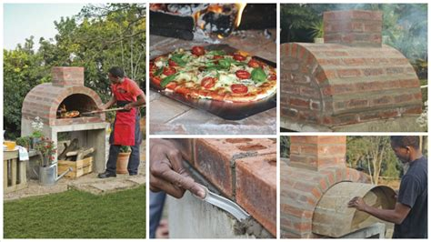 making a pizza oven backyard phenomenal idea that shows how to build a homemade pizza