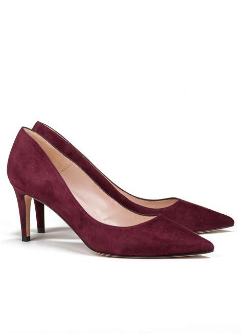 zapatos salon zapato de sal 243 n burdeos de tac 243 n medio tienda de zapatos