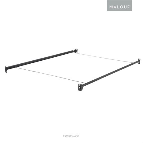 bolt on bed rails structures bolt on metal bed rail system with wire support twin full new ebay
