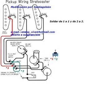 circuitos alternativos en stratocaster