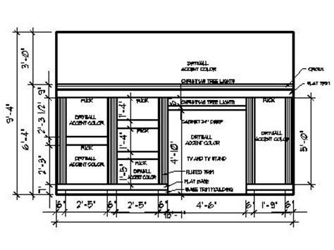 Wall Unit Plans by Pdf Wall Unit Bookcase Plans Plans Free