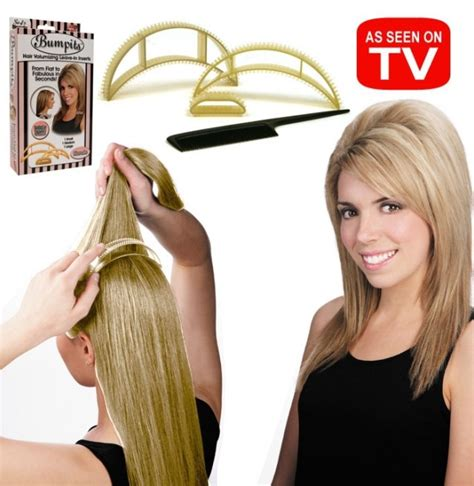 hair style accessories as seen on tv free shipping5pcs set new big happie hair bumpits