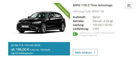 Bmw 1er Leasing 99 2017 by Bmw 1er Carledo Leasing Sparneuwagen De