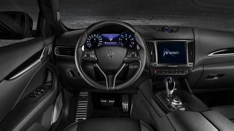 maserati levante dashboard levante