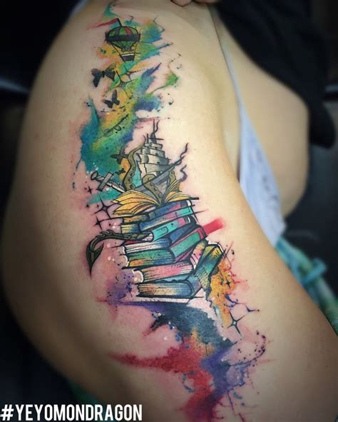 watercolor fairy tattoo designs 25 best ideas about book on reading