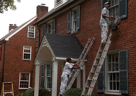 looking for a man who paints houses preservation brief 47 maintaining the exterior of small