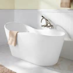Bathroom Freestanding Tubs 65 Quot Iredell Acrylic Freestanding Tub Bathroom