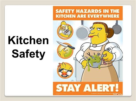 kitchen food safety grade 8 home economics ppt