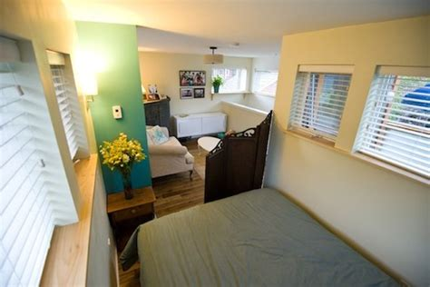couple living in 500 square foot small house by smallworks studios 500 square foot small house