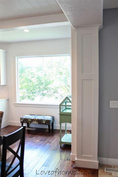 interior column trim ideas 25 best ideas about interior columns on