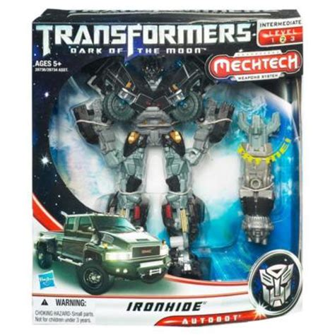 Mecha Transformer Optimus Ironhide Bumblebee Shockwave of the moon voyager class ironhide review bwtf