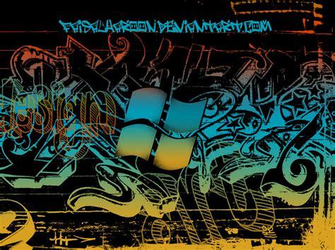 wallpaper graffiti windows 7 metro graffiti black by faisalharoon on deviantart