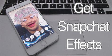 snapchat filters  iphone  ipad