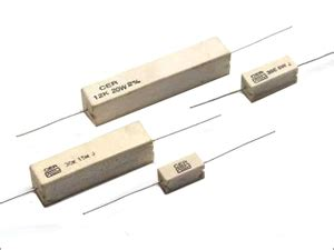 ceramic encased high power resistors wire wound resistors manufacturer high voltage resistors supplier exporter india