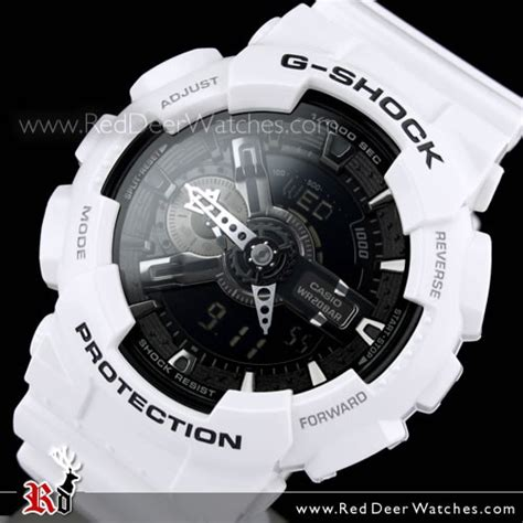 Casio G Shock Ga 110 White Buy Casio G Shock Black And White Analog Digital Display