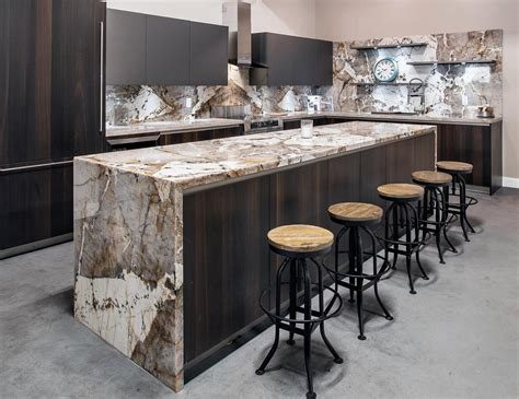 bar with marble top beautiful stone like painting stoneadd photo