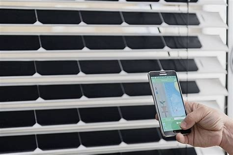 window blinds technology solargaps solar panel window blinds