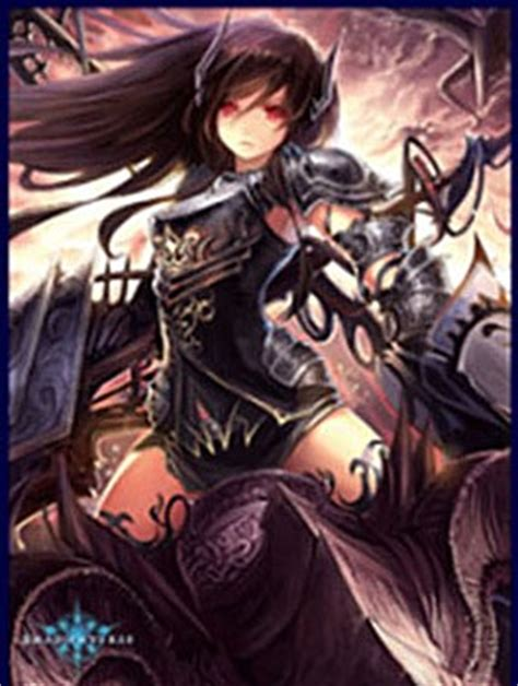 Card Sleeves Unica Shadowverse 1 chara sleeve matte no mt279 dragoon forte by movic