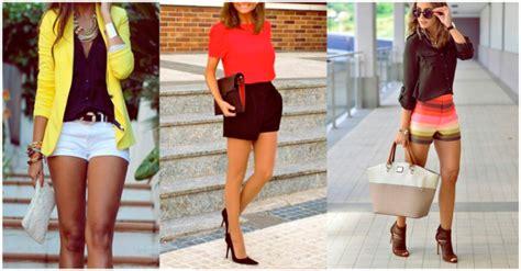 imagenes de shorts verdes outfits elegantes con short 161 luce tus piernas con estilo