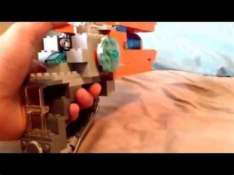 How To Make A Paper Slugterra Blaster - lego slugterra eli s blaster