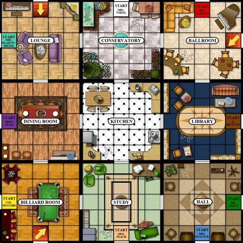 bid in italiano board cluedo search maps design research