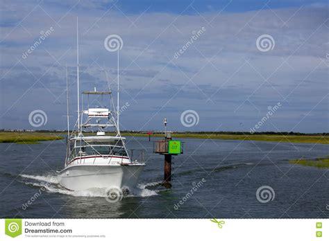 boat dealers near ocean city nj tuna tower of sport fishing boat stock photography