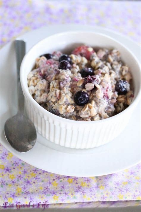 187 overnight mixed berry oatmeal and a 550 visa gift card giveaway