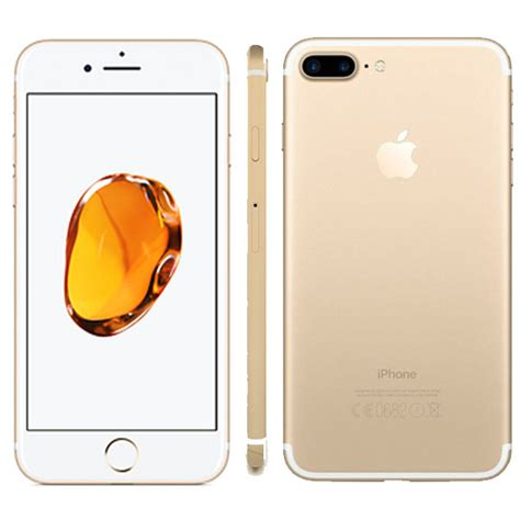 apple iphone 7 plus with facetime 256 gb gold trojan