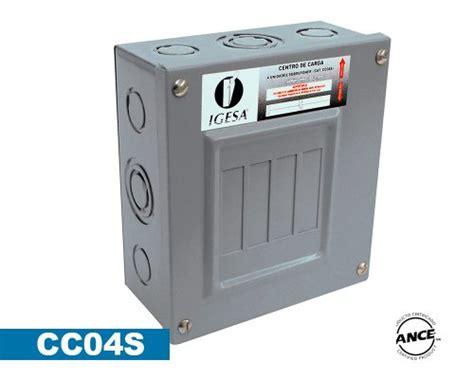 oficina zoom merida centro de carga 4 polos sobreponer cc04s igesa