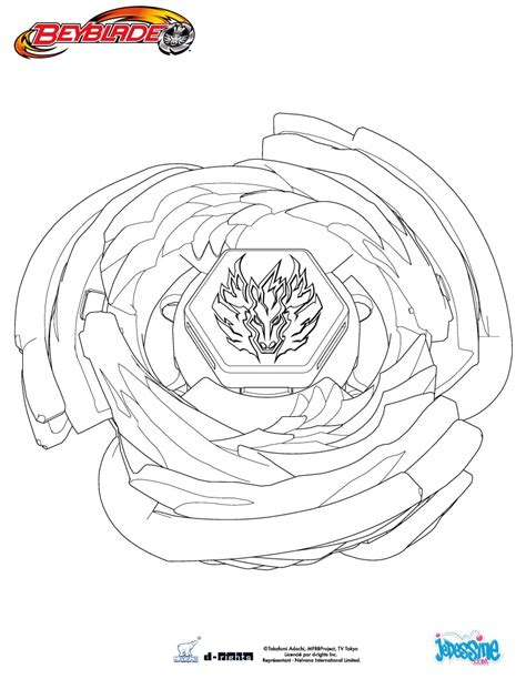 pegasus beyblade free colouring pages