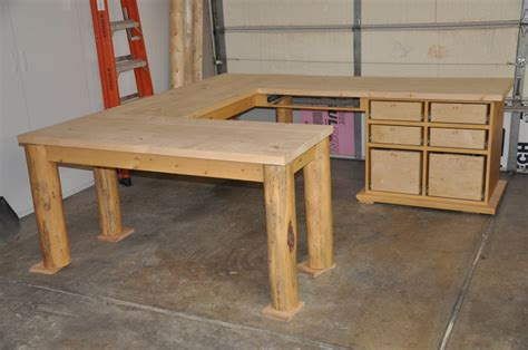 woodwork rustic desk plans  plans