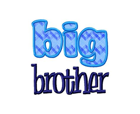 design embroidery brother big brother applique machine embroidery design