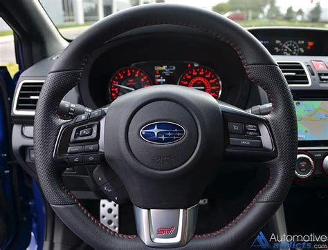 subaru wrx sti limited steering wheel
