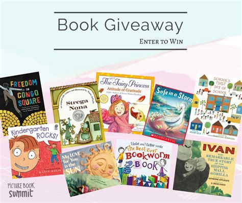 picture book summit book bundle giveaway 2017 picture book summit 2017 - Book Giveaways 2017
