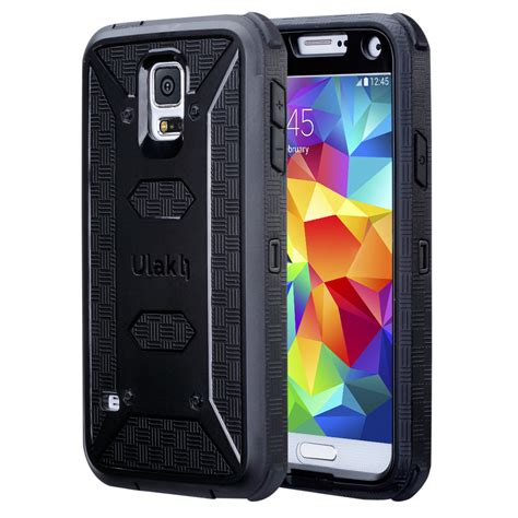 samsung rugged hybrid rugged rubber shockproof cover for samsung galaxy s5 ebay