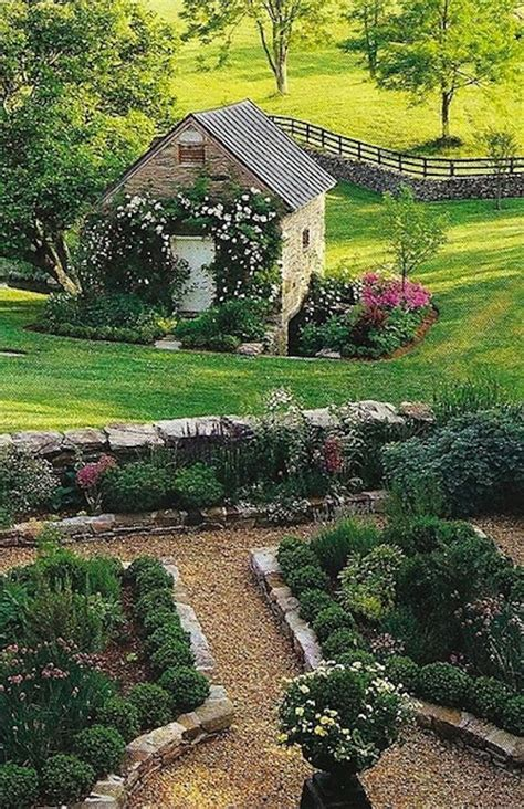 country backyard lovely garden plantation style pinterest gardens