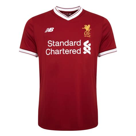 new year 2018 liverpool liverpool 17 18 new balance home kit 17 18 kits