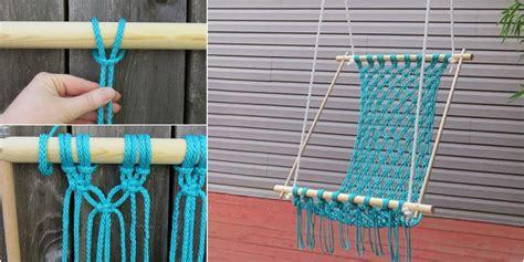 macrame swing macrame hanging chair products i love pinterest macrame