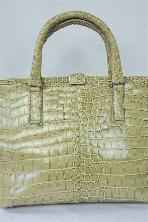 Bottega Veneta Ebay Alert With Bottega Veneta Purse by Bottega Veneta Crocodile Leather Large Bag Framed Handbag