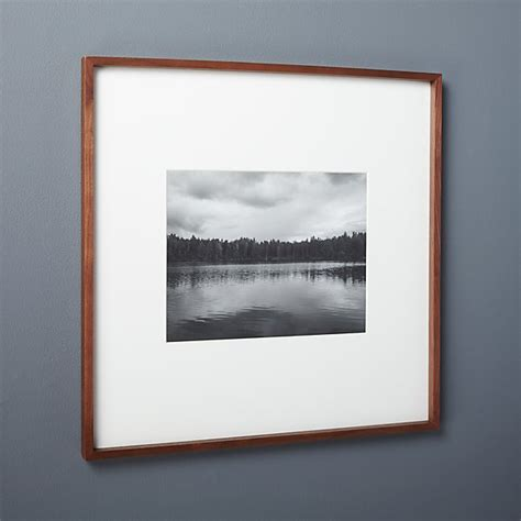 gallery walnut  picture frame reviews cb