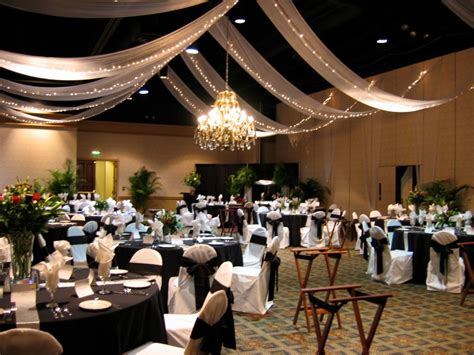 creative wedding and party decor fabric ceiling draping great decorating solution to hide ugly walls and ceilings