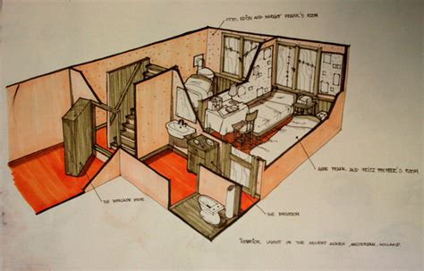anne frank secret annex floor plan anne frank s annex by killabee on deviantart