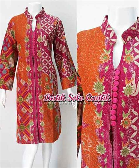 Dress Batik Doby by Dress Batik Anggun Baju Kerja Batik