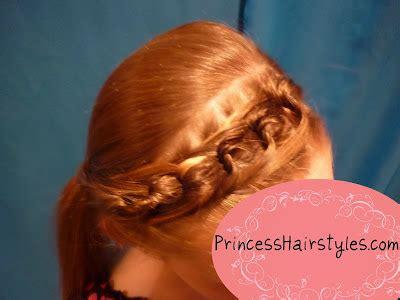chain braid headband hairstyle for medium long hair tutorial chain link braid headband hairstyle hairstyles for girls