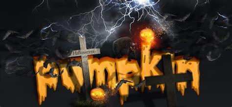 photoshop cs3 halloween tutorial make a spooky halloween pumpkin text effect in photoshop