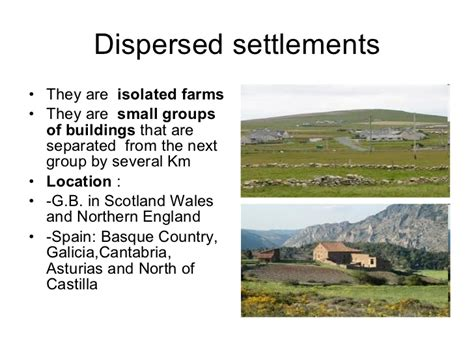 settlement pattern types settlement types di