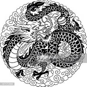 dragon chinois clipart vectoriel getty images