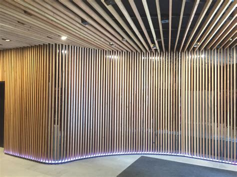 Timber Ceiling Battens by Decor Systemsrecycled Timber Wall And Ceiling By Decor Systems