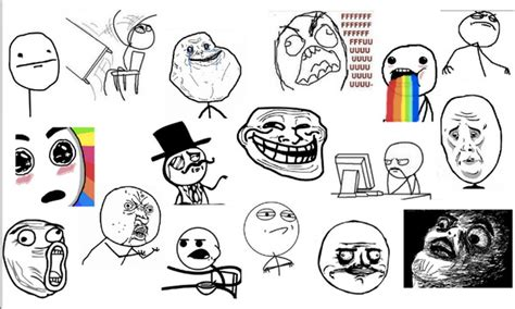 Memes Rage Faces - memes faces list www pixshark com images galleries